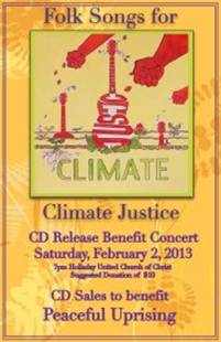 Climate Justice Concert