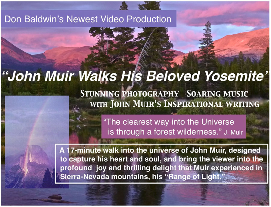 Worship service with reflection by John Muir