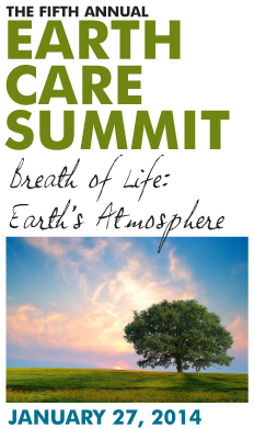 2014 Earth Care Summit, Breath of Life: Earth's Atmosphere