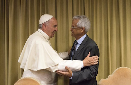 """The Pope's Climate Scientist: An Evening with Dr. Ramanathan"""