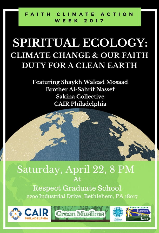 Spiritual Ecology: Climate Change & Our Faith Duty for a Clean Earth