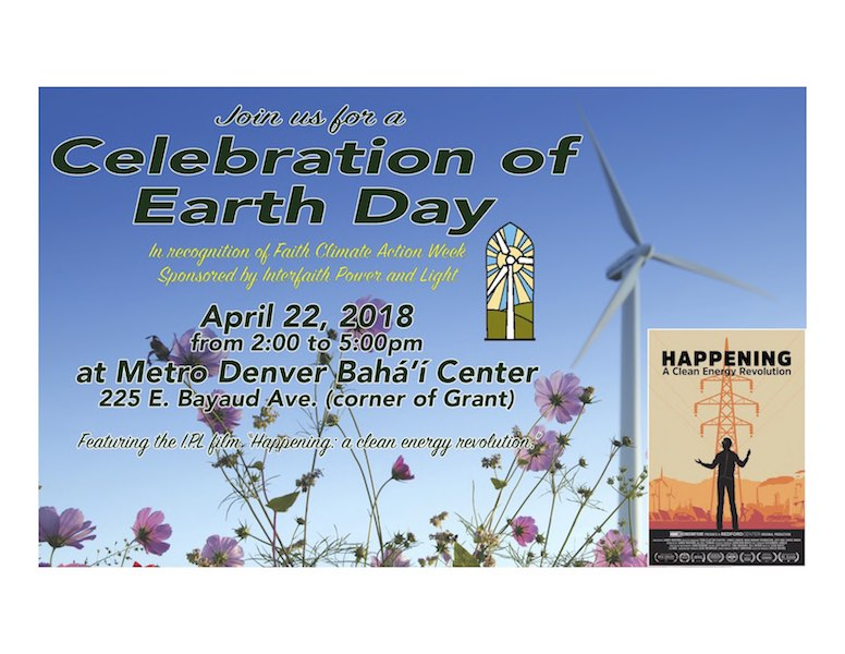 Celebration of Earth Day