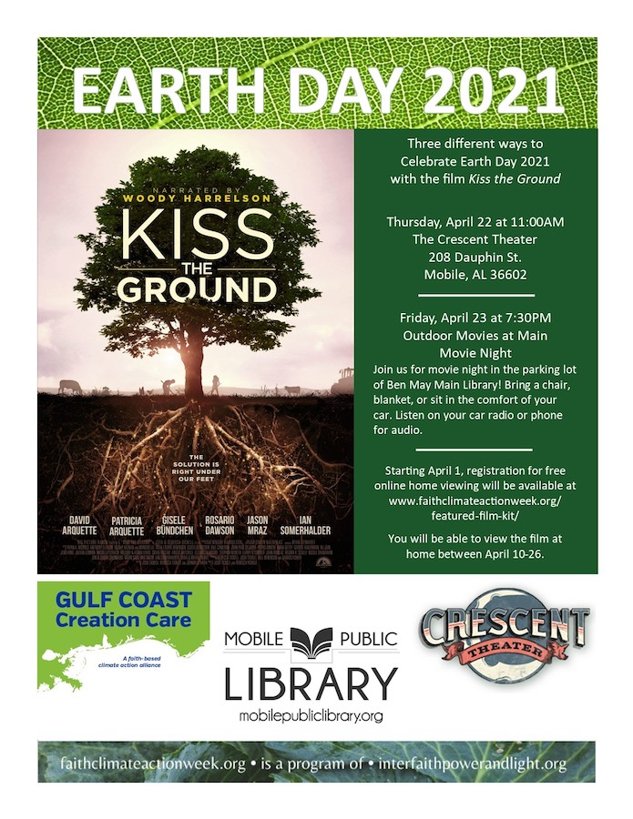 Earth Day Film Screening IN PERSON